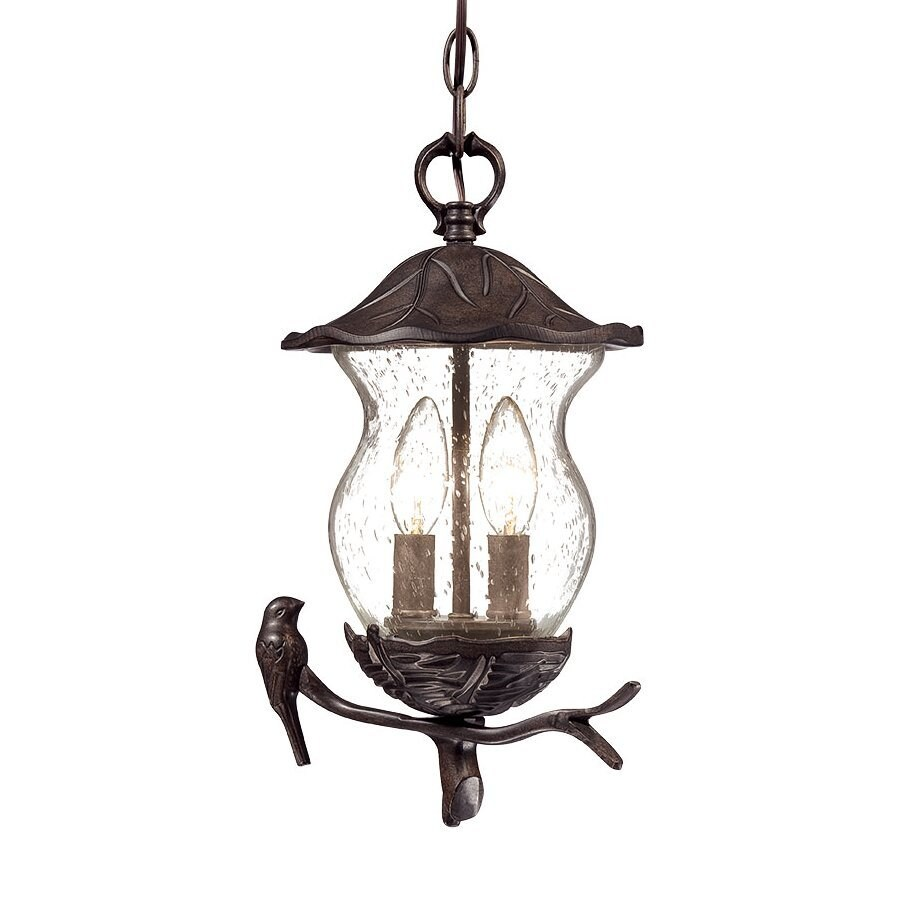 Acclaim Lighting Avian 13.5-in Black Coral Hardwired Outdoor Pendant Light