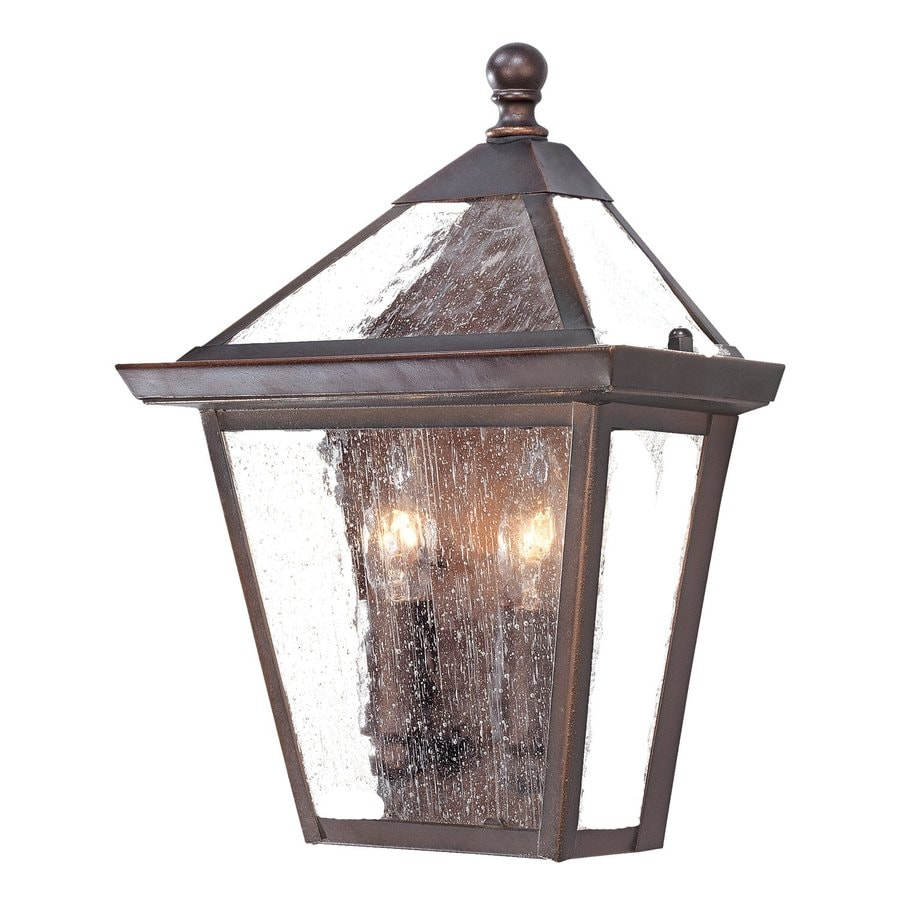 Acclaim Lighting Charleston 11-in H Architectural Bronze Outdoor Wall Light