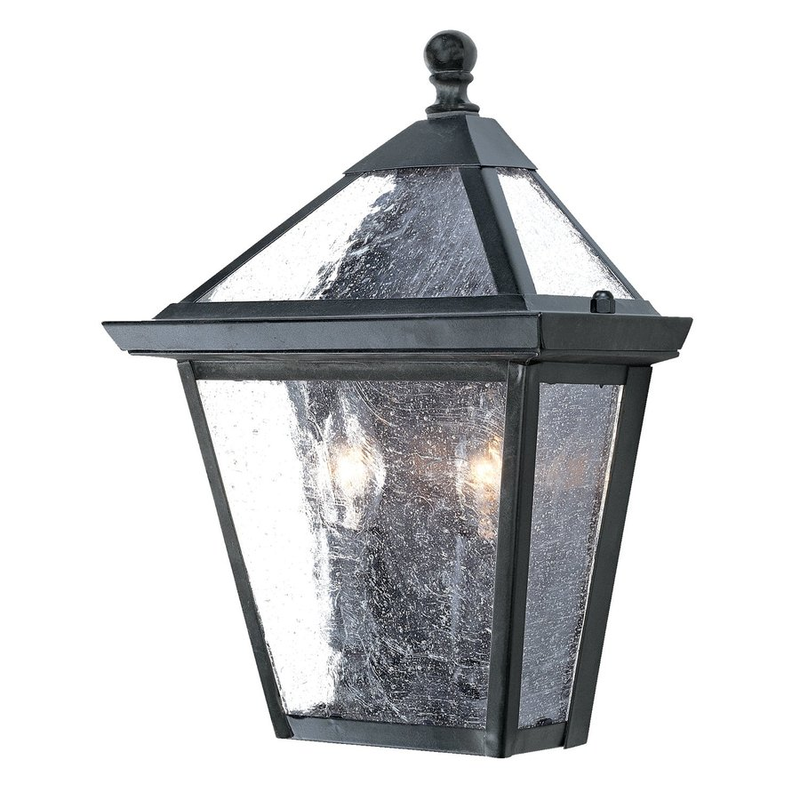 Acclaim Lighting Charleston 11-in H Matte Black Outdoor Wall Light  sc 1 st  Loweu0027s & Shop Acclaim Lighting Charleston 11-in H Matte Black Outdoor Wall ...