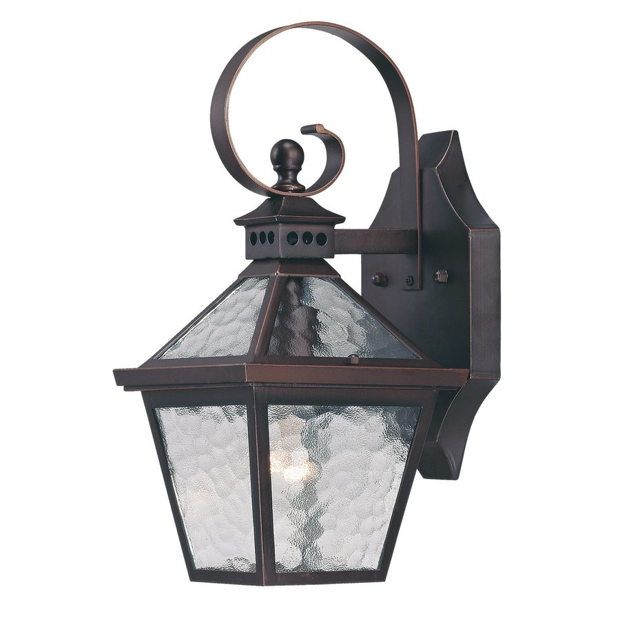 Acclaim Lighting Bay Street 14-in H Architectural Bronze Outdoor Wall Light