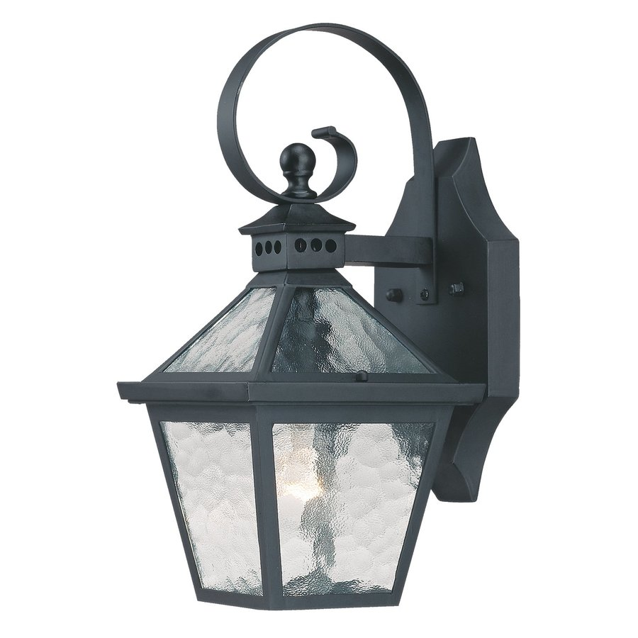 Acclaim Lighting Bay Street 14-in H Matte Black Outdoor Wall Light