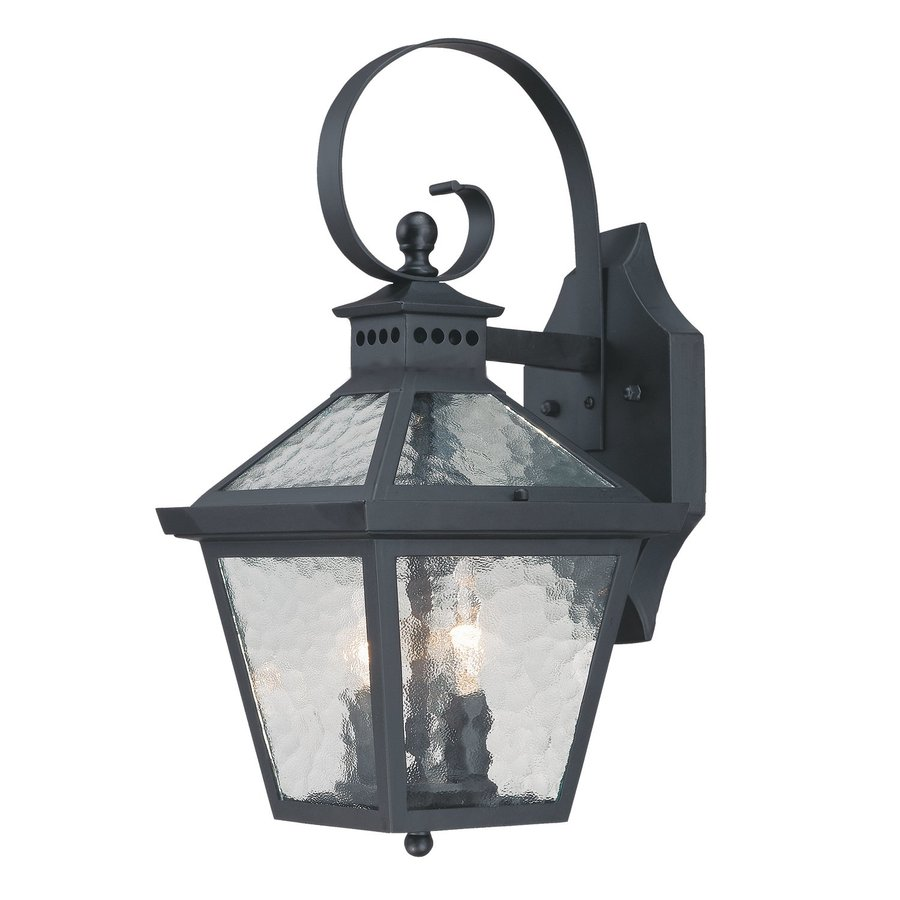 Acclaim Lighting Bay Street 16.25-in H Matte Black Outdoor Wall Light