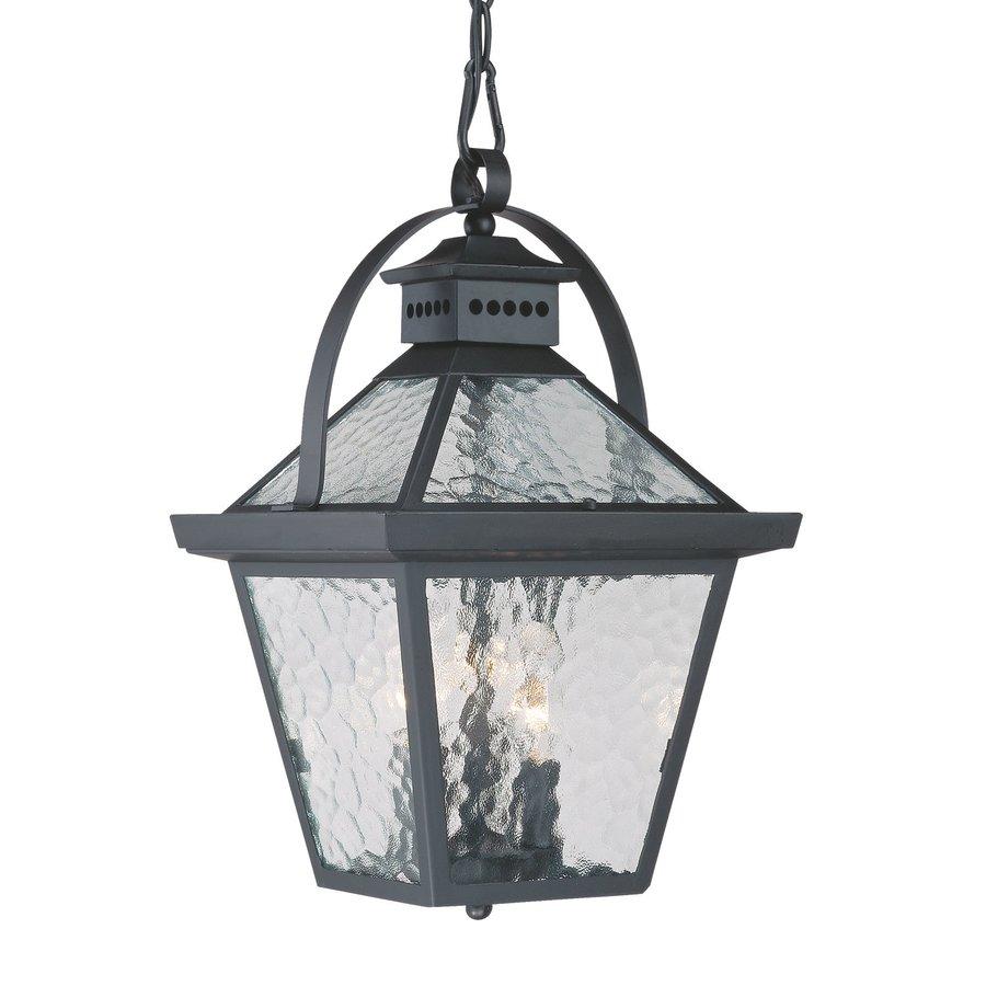 Acclaim Lighting Bay Street 16.5-in Matte Black Outdoor Pendant Light
