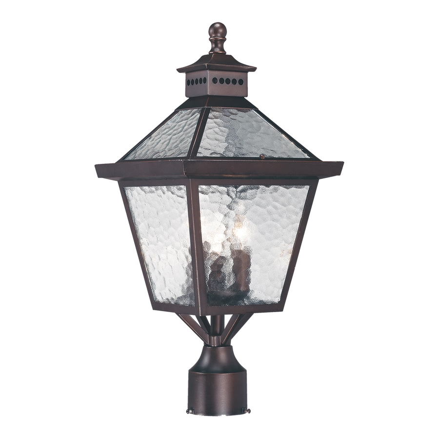 Acclaim Lighting Bay Street 21-in H Architectural Bronze Post Light