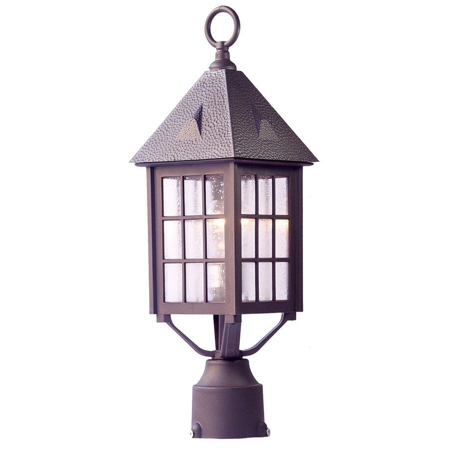 Acclaim Lighting Outer Banks 20-in H Architectural Bronze Post Light