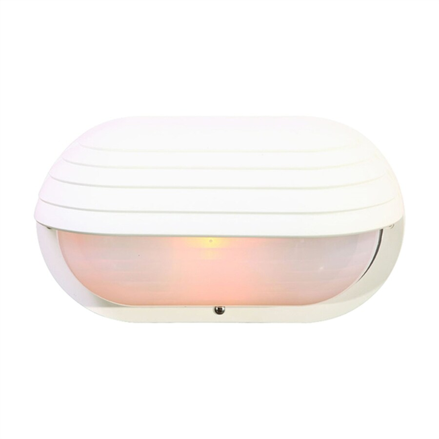 Acclaim Lighting Mariner 6-in H Textured White Outdoor Wall Light