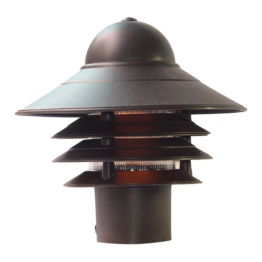 Acclaim Lighting Mariner 10-in H Architectural Bronze Post Light