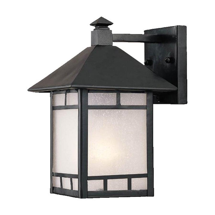 Acclaim Lighting Artisan 10.75-in H Matte Black Outdoor Wall Light