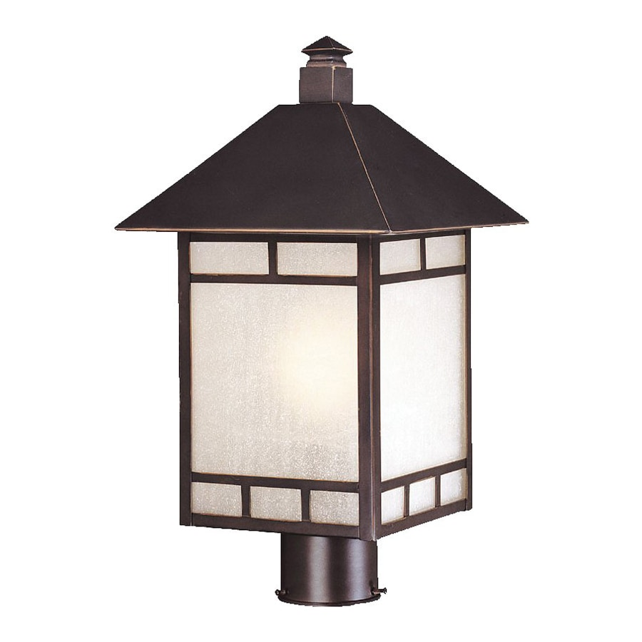 Acclaim Lighting Artisan 18.5-in H Architectural Bronze Post Light
