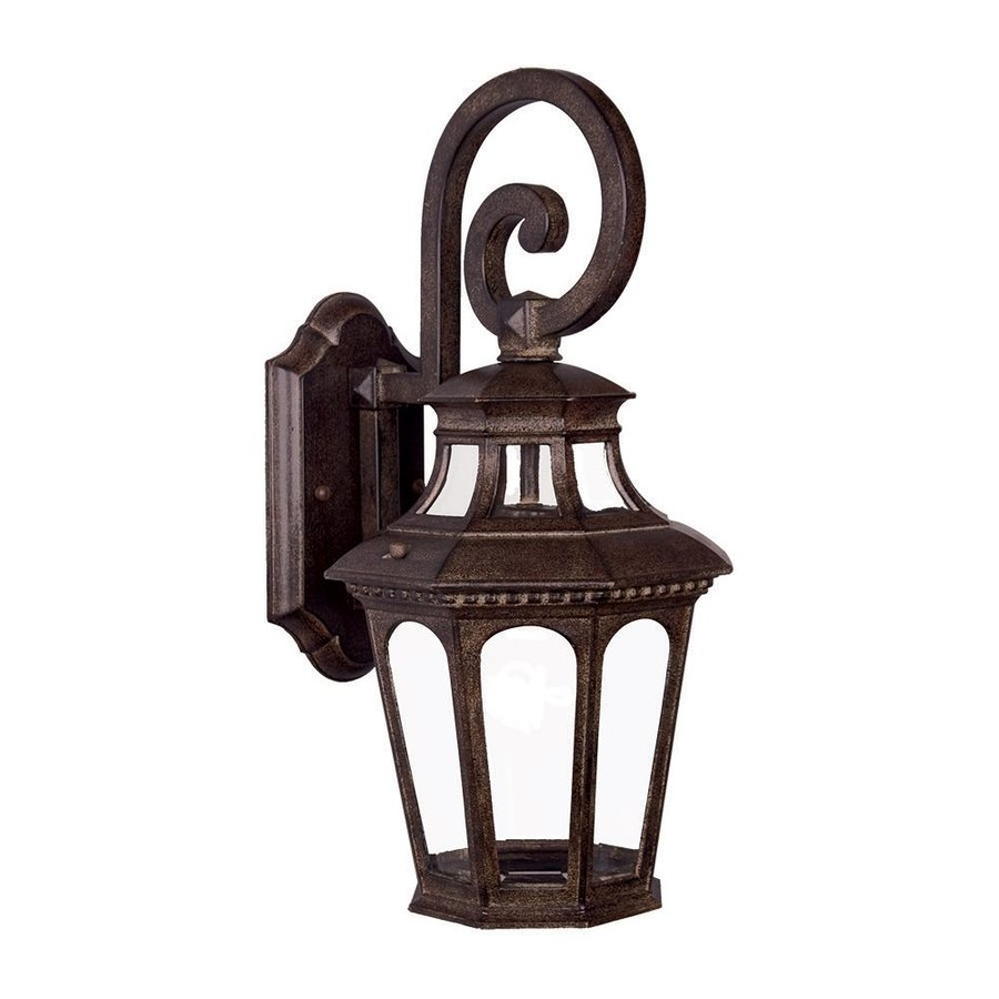 Acclaim Lighting Newcastle 17.5-in H Black Coral Outdoor Wall Light