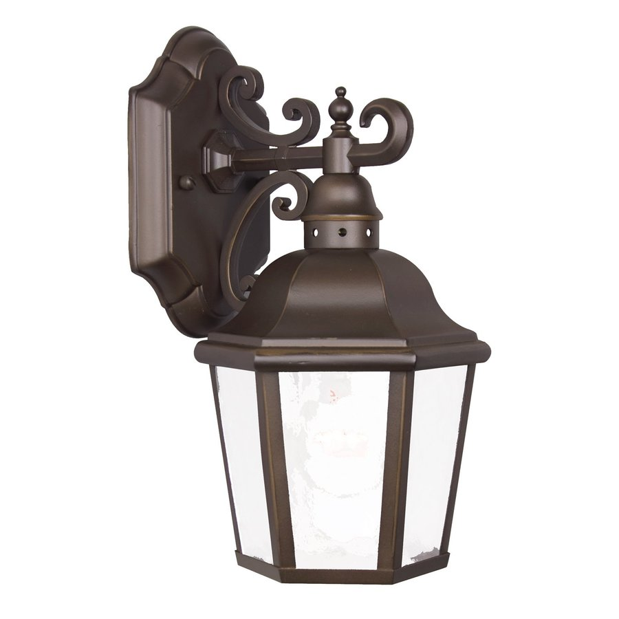 Acclaim Lighting Beaufort 11.5-in H Architectural Bronze Outdoor Wall Light