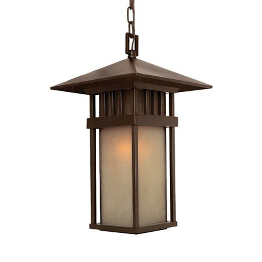 Acclaim Lighting Bali 18-in Architectural Bronze Outdoor Pendant Light