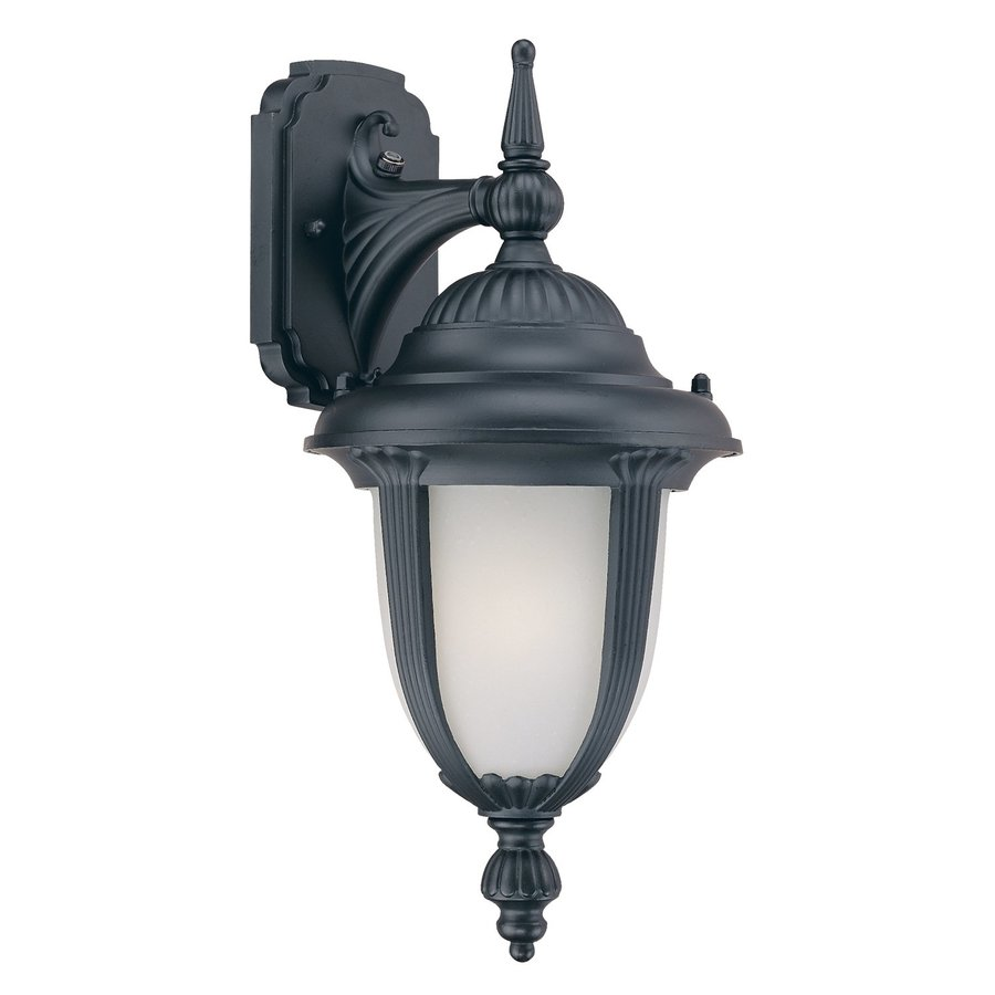 Acclaim Lighting Monterey 15.75-in H Matte Black Outdoor Wall Light