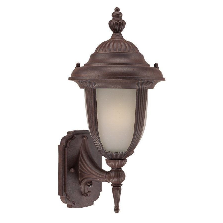 Acclaim Lighting Monterey 16-in H Burled Walnut Outdoor Wall Light