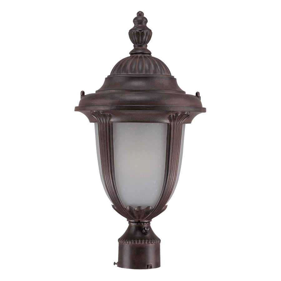 Acclaim Lighting Monterey 19.5-in H Burled Walnut Post Light