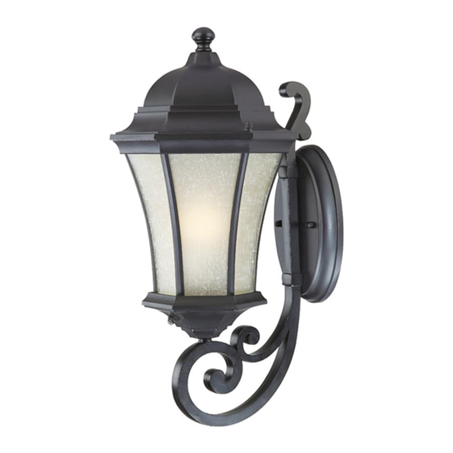 Acclaim Lighting Waverly 19.5-in H Matte Black Outdoor Wall Light