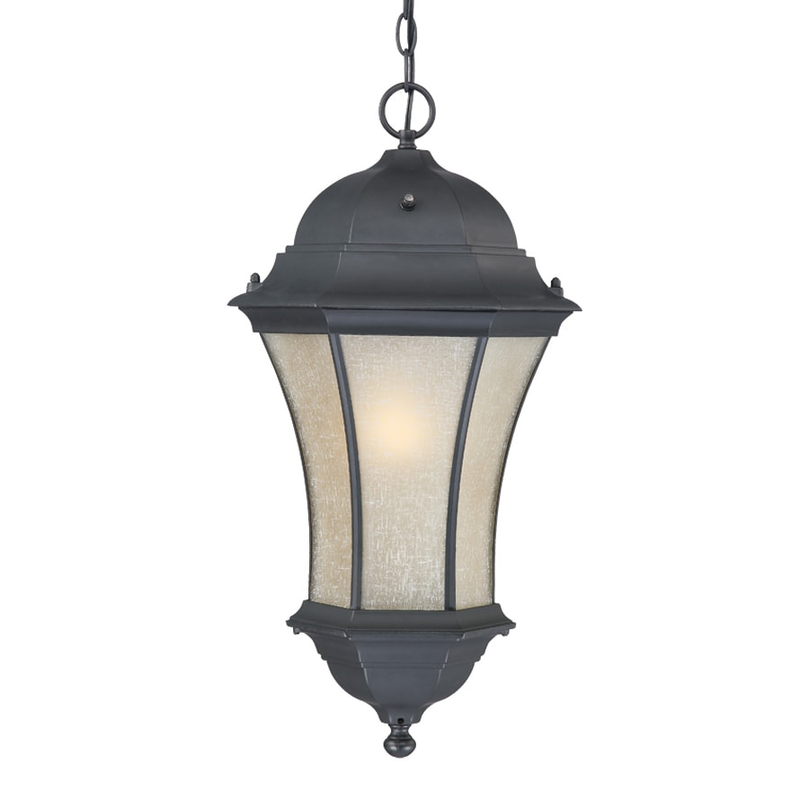 Acclaim Lighting Waverly 23.5-in Matte Black Hardwired Outdoor Pendant Light ENERGY STAR