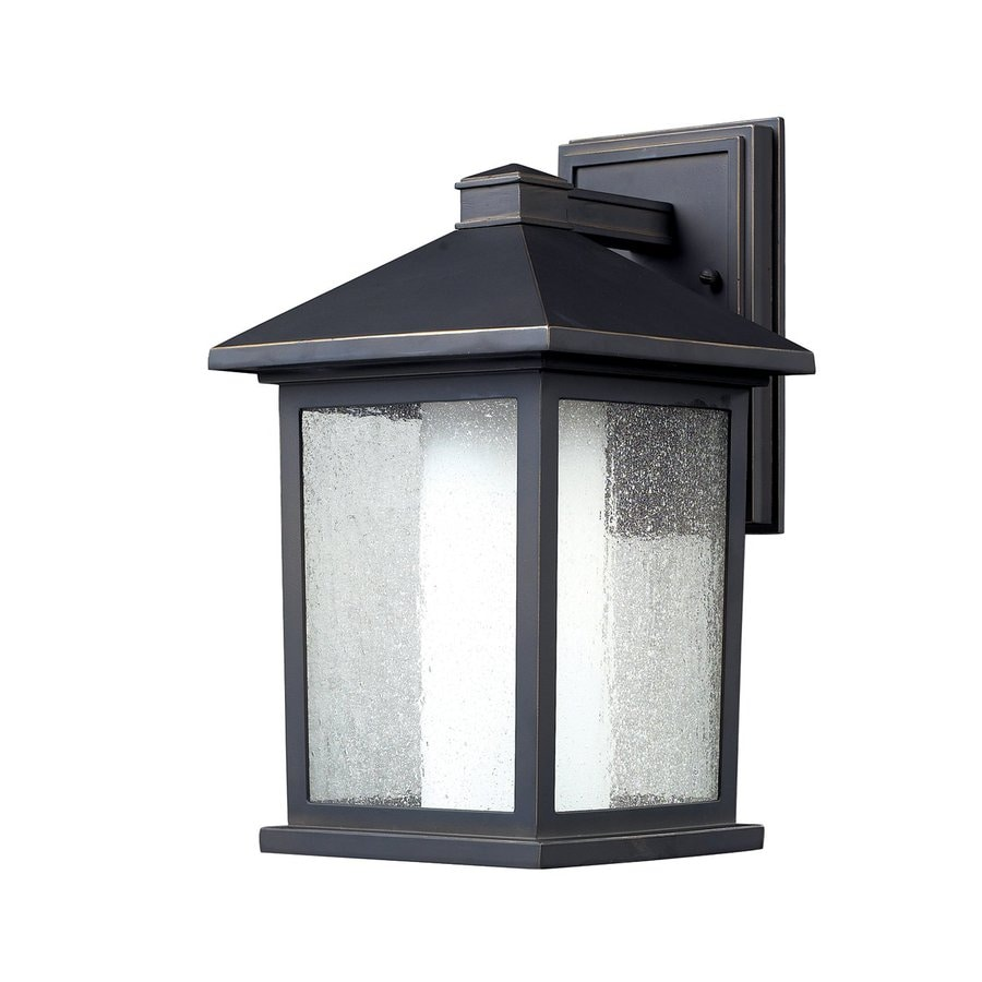 Z-Lite Mesa 14-in H Oil-Rubbed Bronze Outdoor Wall Light