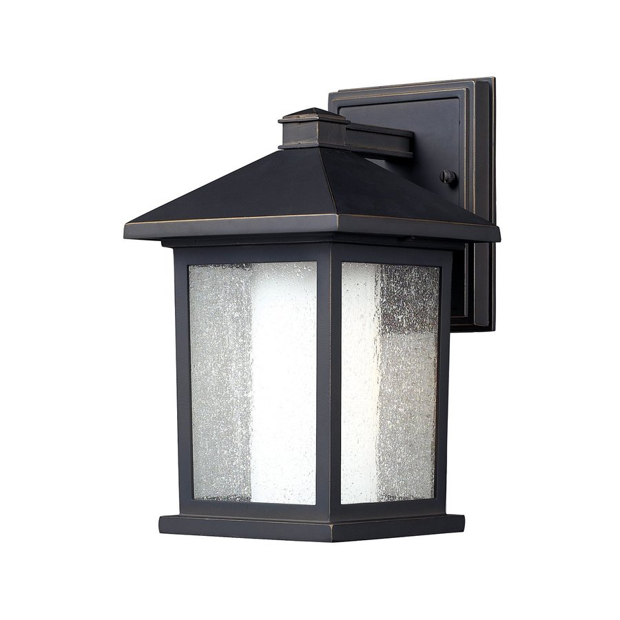Z-Lite Mesa 10.5-in H Oil-Rubbed Bronze Outdoor Wall Light