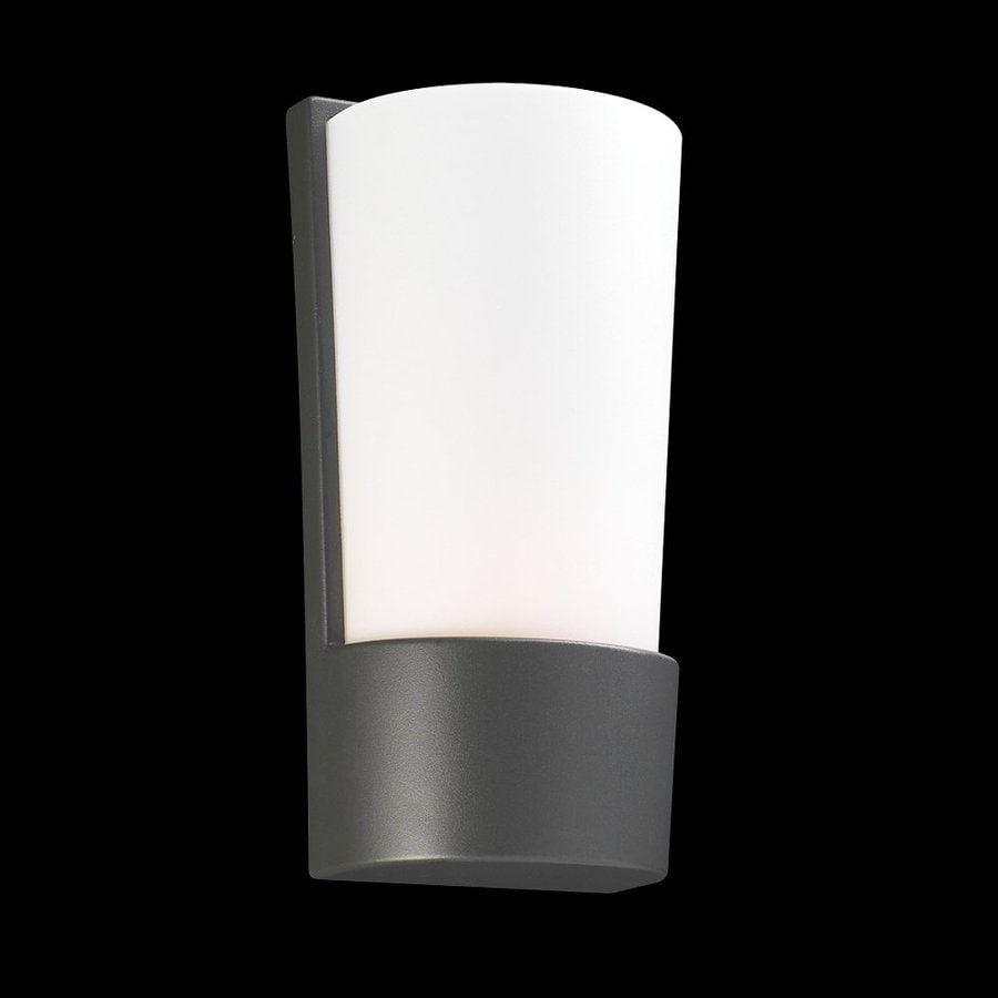 PLC Lighting Chimera 11-in H Architectural Bronze Outdoor Wall Light