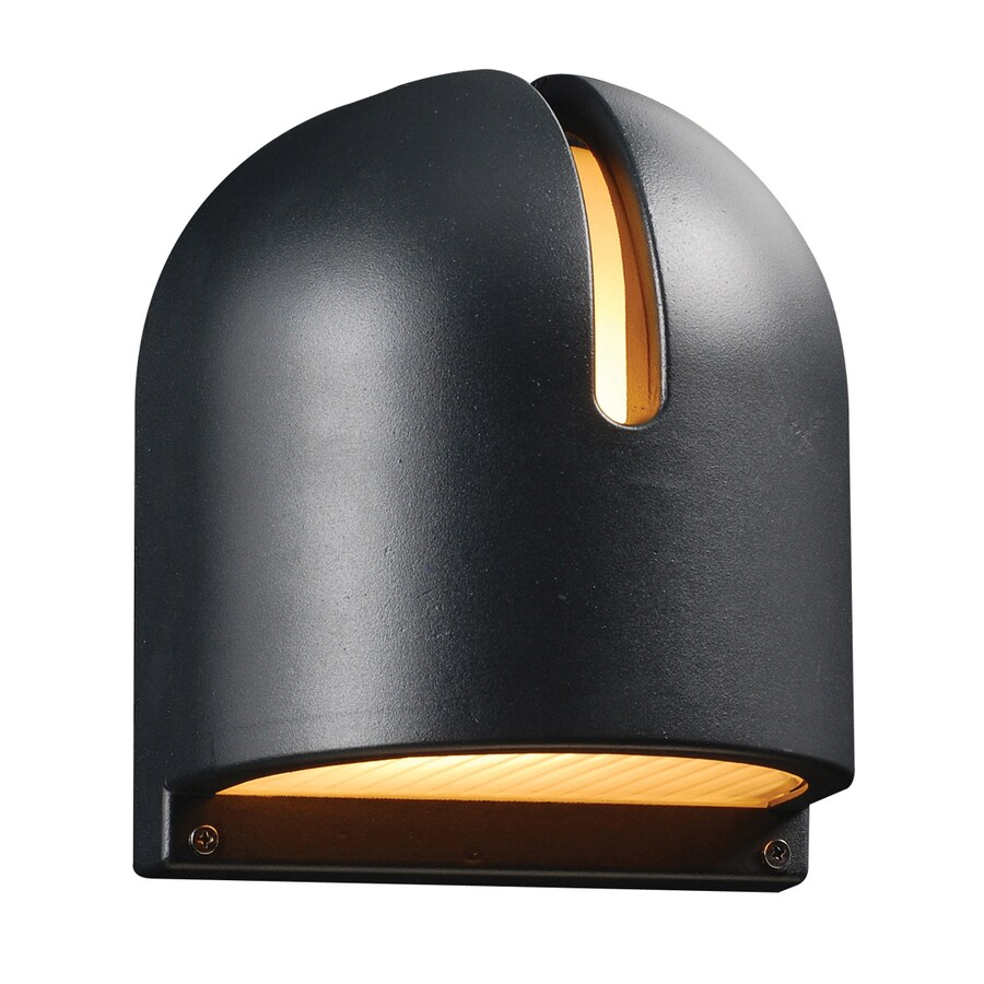 PLC Lighting Phoenix 9-in H Architectural Bronze Outdoor Wall Light
