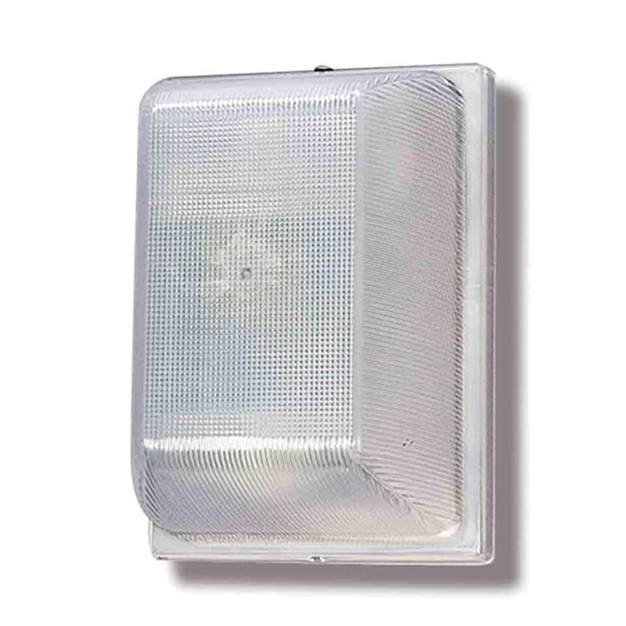 Volume International 7.34-in H White Outdoor Wall Light