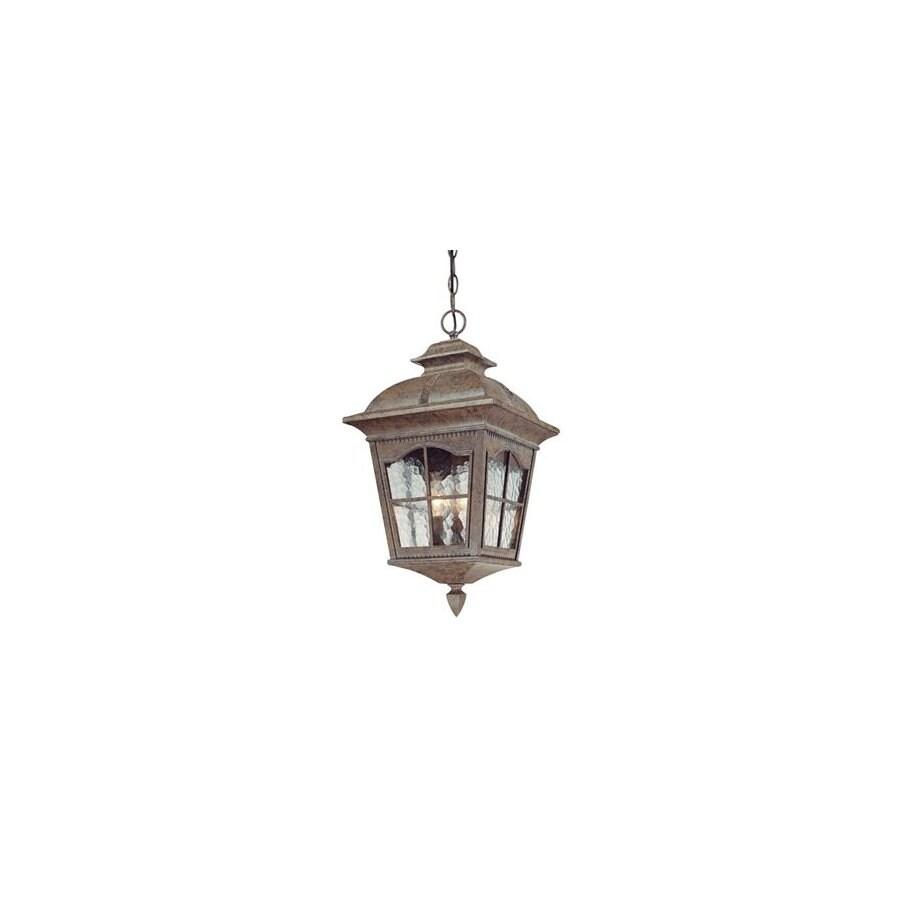 Volume International Leeds 21.5-in H Bronze Outdoor Pendant Light