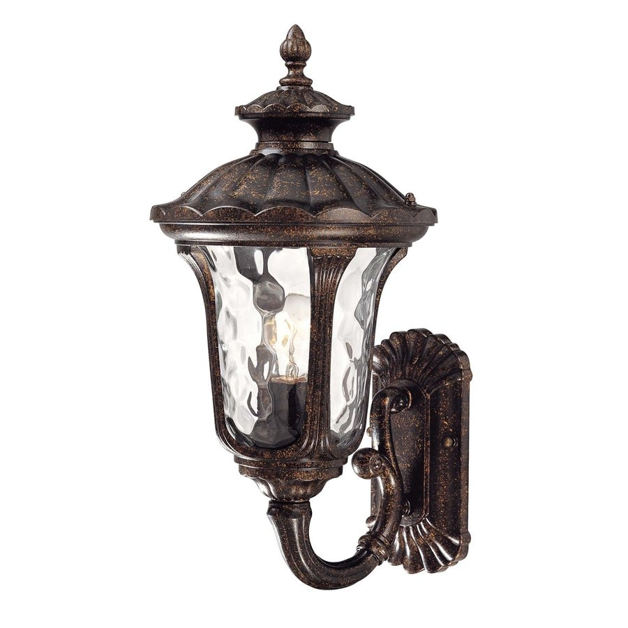 Volume International Tavira 18.5-in H Vintage Bronze Outdoor Wall Light