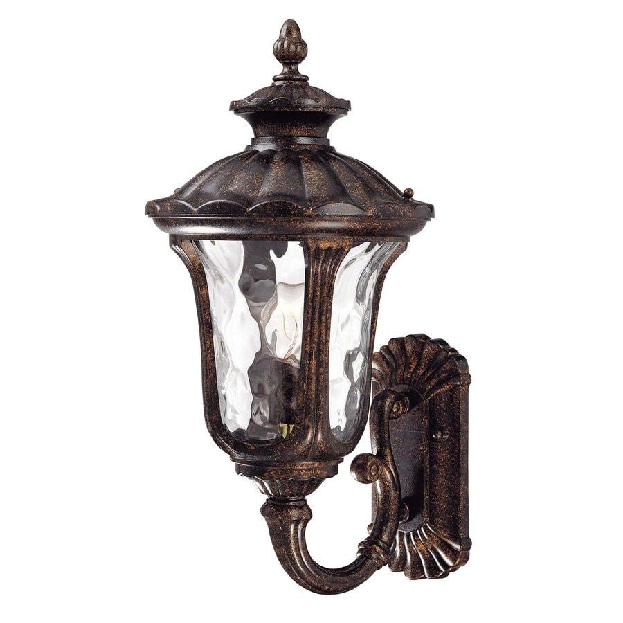 Volume International Tavira 22.25-in H Vintage Bronze Outdoor Wall Light