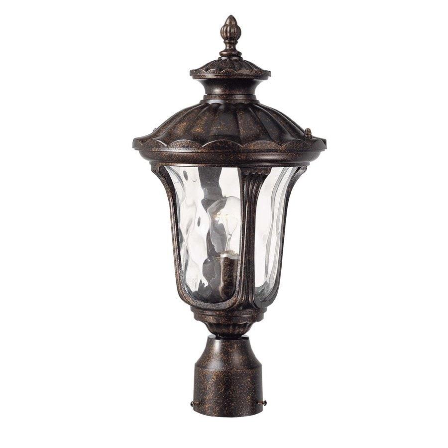 Volume International Tavira 19-in H Vintage Bronze Post Light
