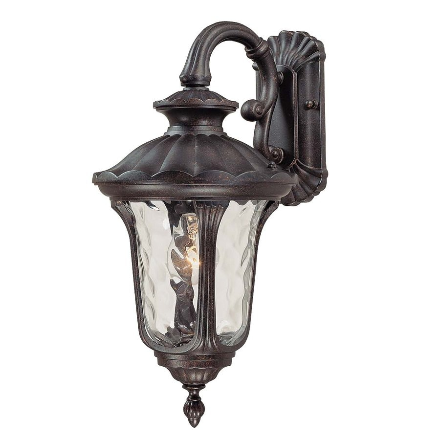 Volume International Tavira 22.25-in H Vintage Bronze Outdoor Wall Light