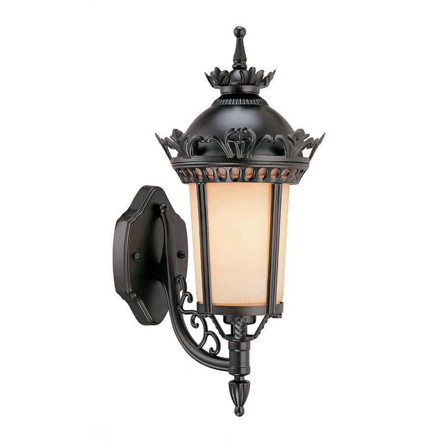 Volume International New Orleans 18.8-in H Foundry Bronze Medium Base (E-26) Outdoor Wall Light