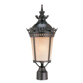 volume new orleans 22in h foundry bronze post light