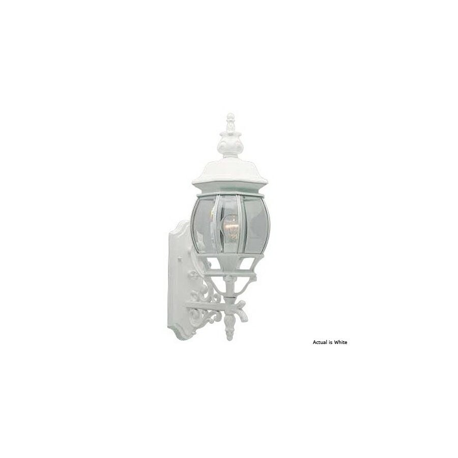 Volume International 23.5-in H White Outdoor Wall Light