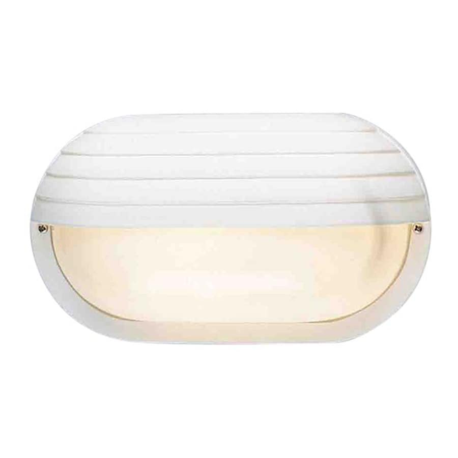Volume International 6-in H White Outdoor Wall Light