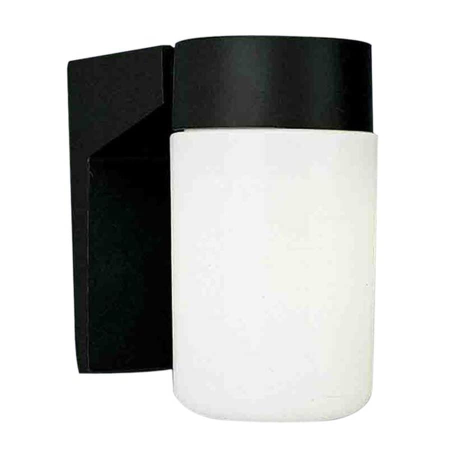 Volume International 6.5-in H Black Outdoor Wall Light