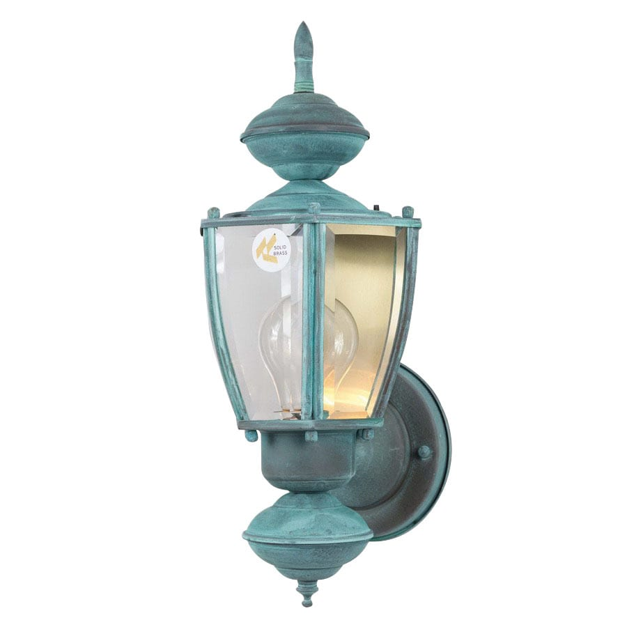 Porch Light Green: Shop Volume International 15.5-in H Verde Green Outdoor