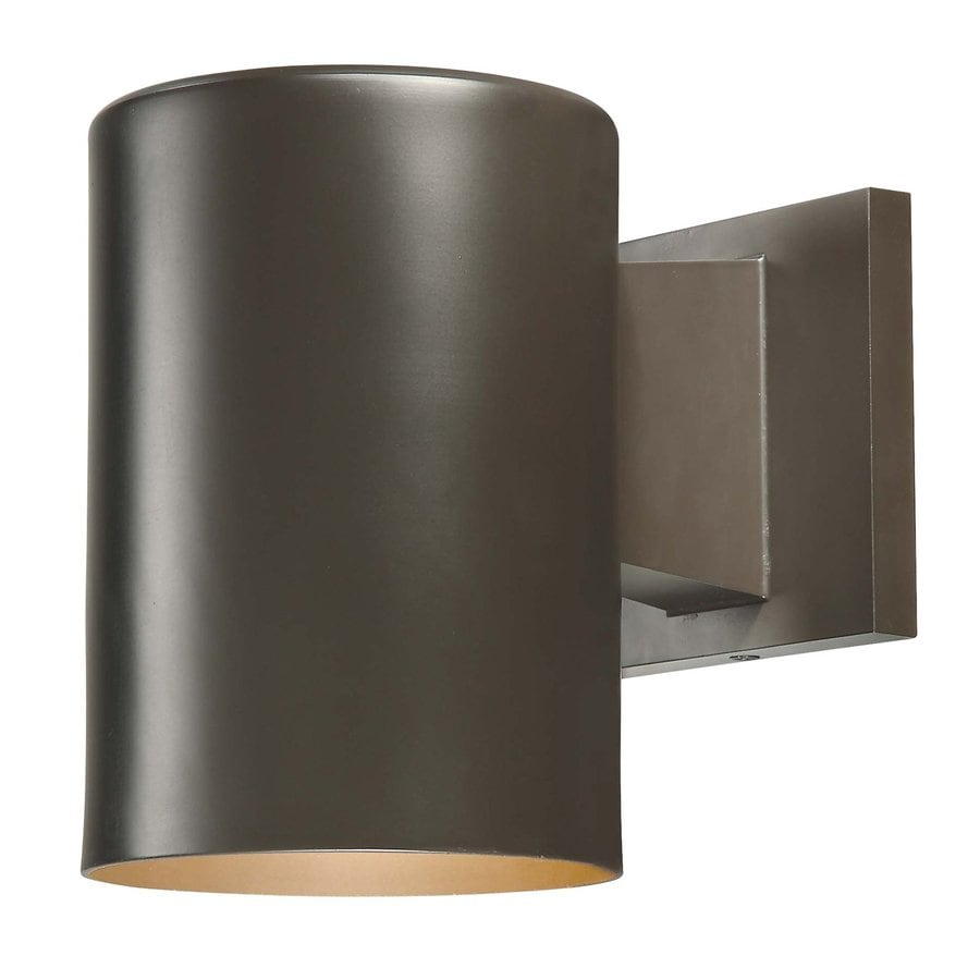 Volume International Down 7.25-in H Antique Bronze Medium Base (E-26) Outdoor Wall Light