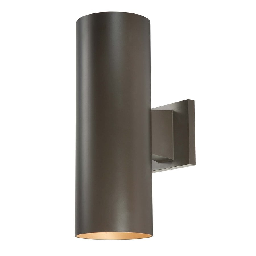 Volume International Down 14-in H Antique Bronze Medium Base (E-26) Outdoor Wall Light