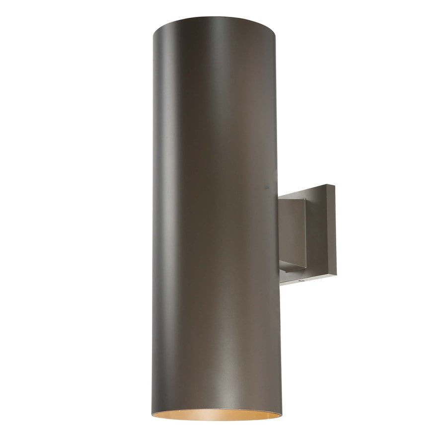 Volume International Down 18-in H Antique Bronze Outdoor Wall Light