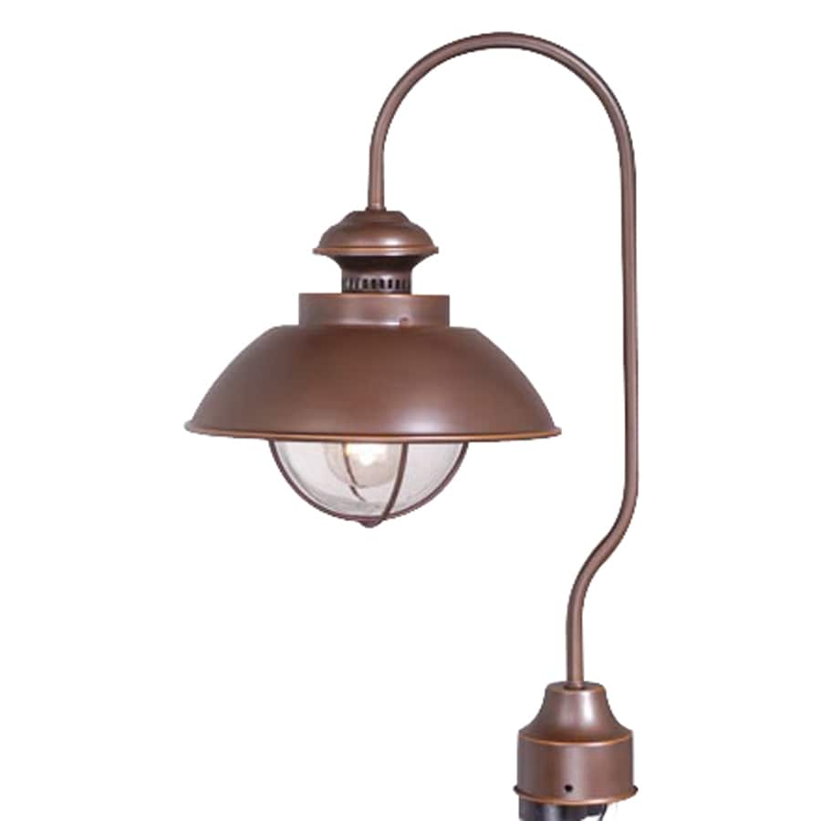 Cascadia Lighting Nautical 20.5-in H Burnished Bronze Post Light
