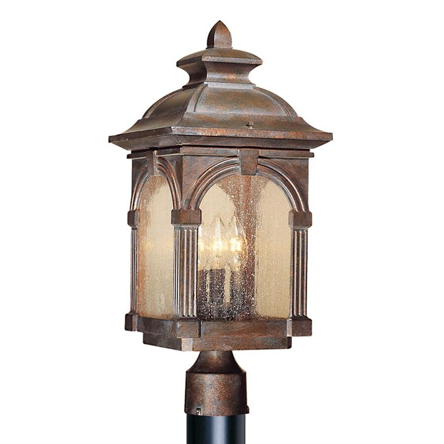 Cascadia Lighting Essex 18.5-in H Royal Bronze Post Light