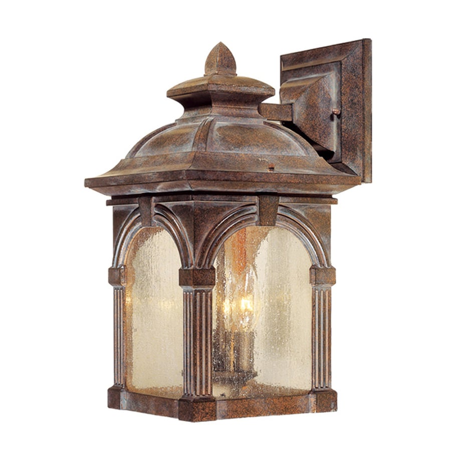 Cascadia Lighting Essex 16.5-in H Royal Bronze Outdoor Wall Light
