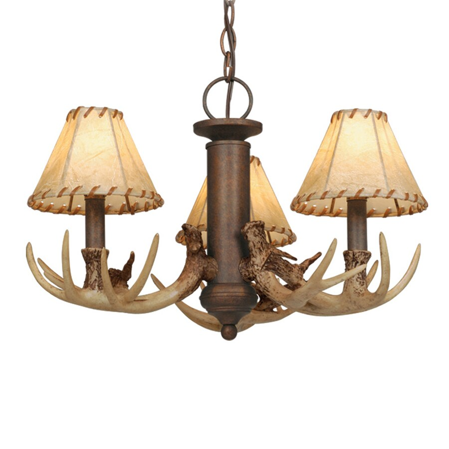 Cascadia Lighting 3-Light Weathered Patina Incandescent Ceiling Fan Light Kit with Fabric Glass or Shade