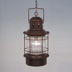 Cascadia Lighting Nautical 22 In Hardwired Outdoor Pendant Light