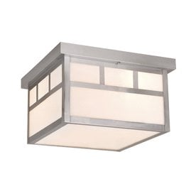 cascadia lighting mission 115in w outdoor flushmount light - Outdoor Ceiling Lights