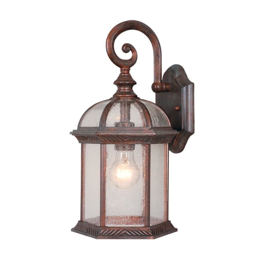 Shop Cascadia Lighting Chateau 16-in H Royal Bronze Outdoor Wall Light at Lowes.com