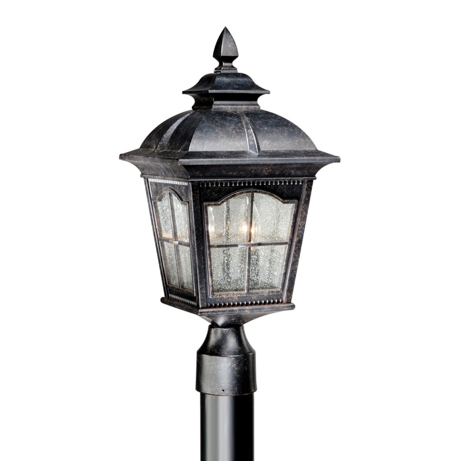 Cascadia Lighting Arcadia 19.5-in H Burnished Patina Post Light