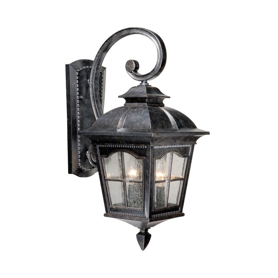 Cascadia Lighting Arcadia 21.25-in H Burnished Patina Outdoor Wall Light