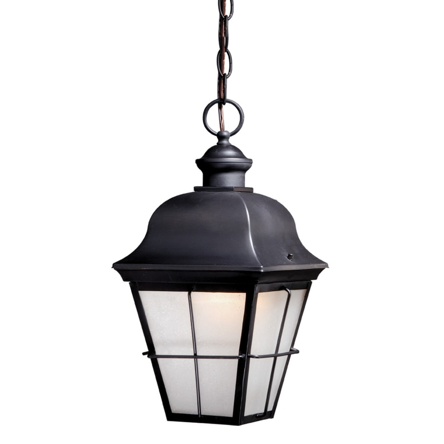 Cascadia Lighting New Haven 15.75-in Oil-Rubbed Bronze Hardwired Outdoor Pendant Light